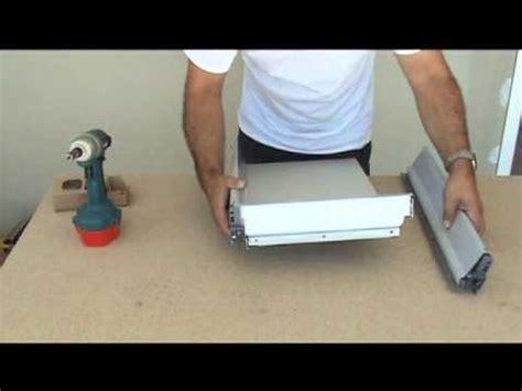 montage d 39 une cuisine montage des tiroirs blum