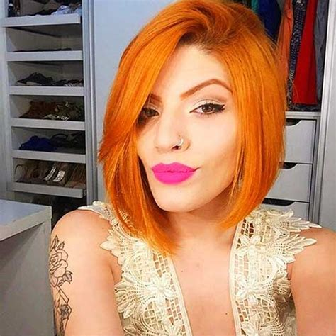 eye catching short red hair ideas   short
