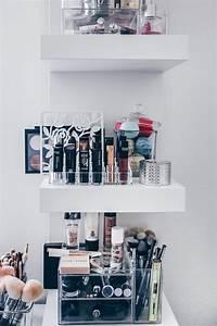 Geschenkpapier Aufbewahrung Ikea : meine neue schminkecke inklusive praktischer kosmetikaufbewahrung ~ Orissabook.com Haus und Dekorationen