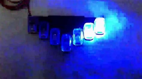 1 24 custom blue vector led light bar