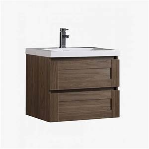 Aqualuna Meuble Salle De Bain Simple Vasque 80 Cm Avec 2