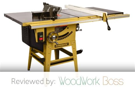 powermatic 64b table saw review best contractor saw 2017 powermatic 1791230k 64b review