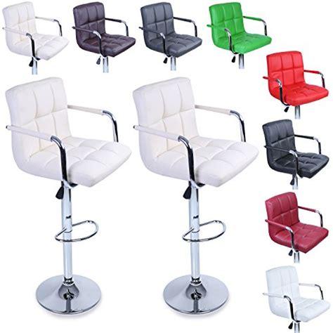 chaise de bar reglable tresko lot de 2 tabourets de bar chaise de bar chaise