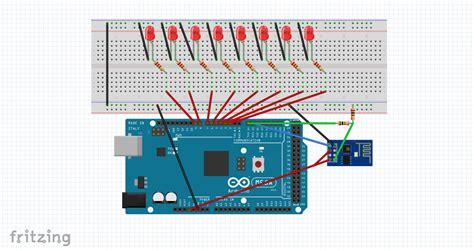 Led Len 3v by điều Khiển 8 đ 232 N Led Qua Wifi Sử Dụng Arduino V 224 Esp8266