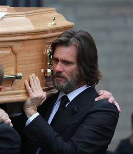 Jim Carrey Carries Ex-Girlfriend's Coffin at Funeral in ...