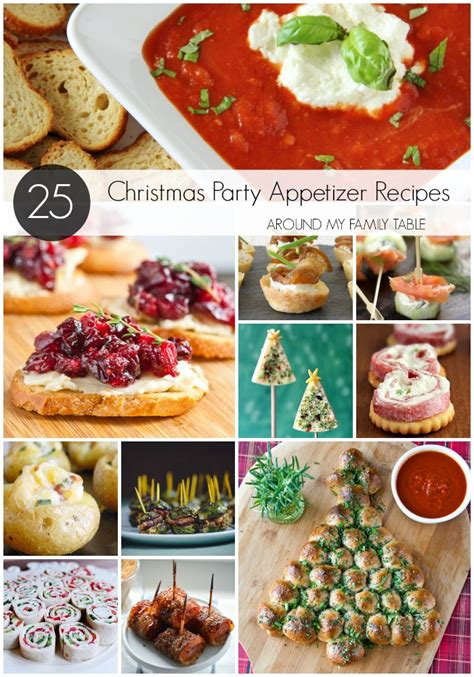 holiday recipes for christmas party appetizer recipes around my family table