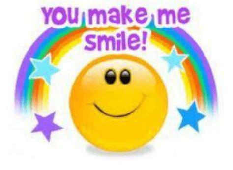 You Make Me Smile Meme - you make me smile meme on sizzle