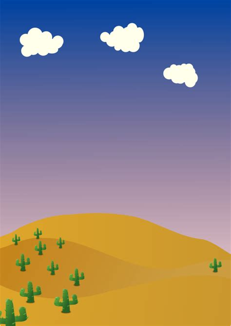 Backgrounds Clipart by Free Desert Background Free Clip