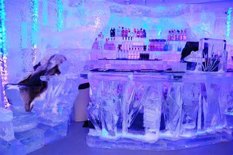 chilling   las vegas ice bar greatest getaways