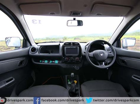 renault kwid interior seat 2015 renault kwid review drive the change drivespark reviews
