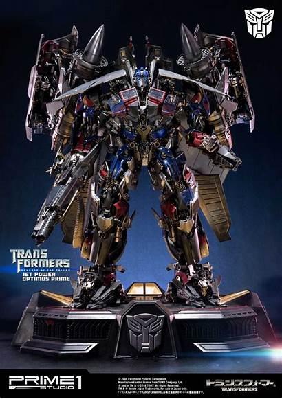Optimus Prime Jetpower Transformers Studio Fallen Revenge