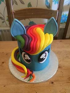 best 25 rainbow dash cake ideas on pinterest my little With rainbow dash cake template