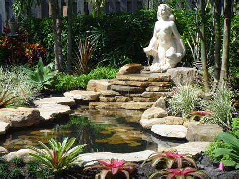 small garden waterfalls pictures small garden waterfall in fort lauderdale florida traditional landscape other metro by