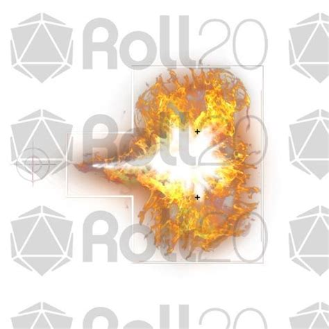 Token Template Roll20 by 15 Cone Of Fire 90 176 Spell Template Roll20 Marketplace