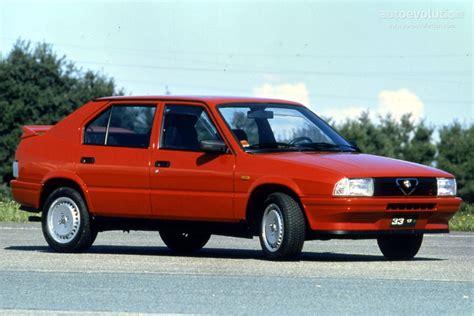 Alfa Romeo 33 Specs  1983, 1984, 1985, 1986, 1987, 1988