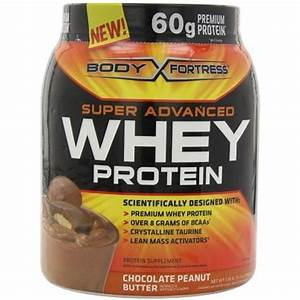 Body Fortress Whey Protein Powder  Chocolate Peanut Butter Flavor  60 G - Walmart Com