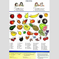 Fruits  Repinned By Chesapeake College Adult Education Program Learn And Improve Your English