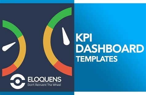 kpi dashboard excel templates easy downloads eloquens