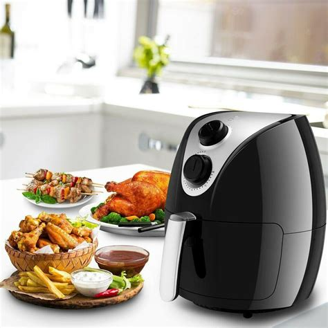 air multi 1500w fryer electric cooker use circulation rapid