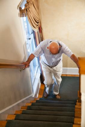 stair climbing a kick in the