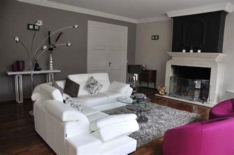 canape et salon idee salon gris avec canape canape noir et blanc design