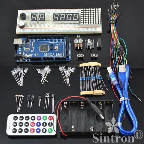 sintron mega 2560 r3 starter kit reference pdf files for arduino avr starter ebay