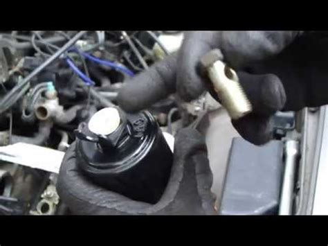 1996 Toyotum Camry Fuel Filter by Fuel Filter Replacement Intank Toyota Corolla 2008