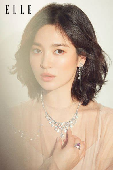 song hye kyo  elle march  couch kimchi