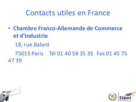 chambre commerce franco allemande salon de l 39 export 2014 presentation allemagne
