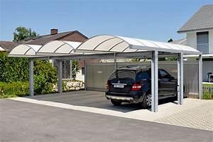 Garage Größe Für 2 Autos : carport autounterstand carport fl ela typ aabd typ aab ~ Jslefanu.com Haus und Dekorationen