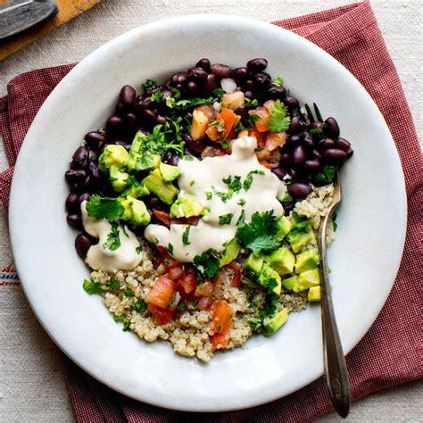 Black Bean-Quinoa Buddha Bowl Recipe - EatingWell