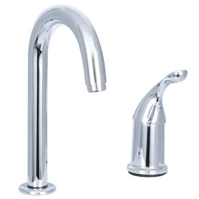 delta classic single handle bar faucet in chrome 1903 dst