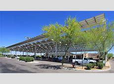 Powers Solar Frame Carport Gallery