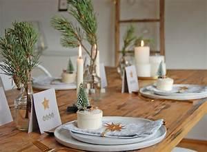 Tischdekoration Zu Weihnachten : tischdeko f r weihnachten ~ Michelbontemps.com Haus und Dekorationen