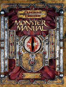 D U0026d Monster Manual 3 5 Edition  Dungeons  U0026 Dragons  By