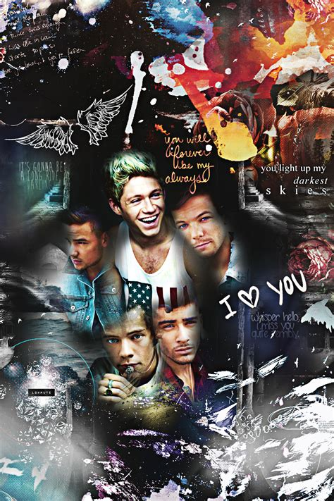 direction iphone wallpaper one direction iphone 4 wallpaper by ddlybrningsls on