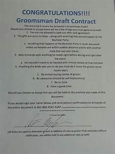 groomsmen contract wedding ideas pinterest groomsmen With groomsmen letter