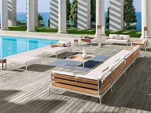 salon de jardin moderne 7 collections exclusives par ethimo With salon de jardin moderne design