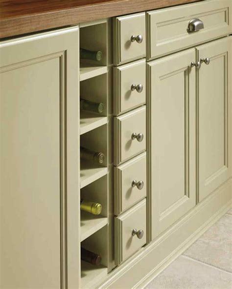 armoire en coin cuisine organized kitchens martha stewart