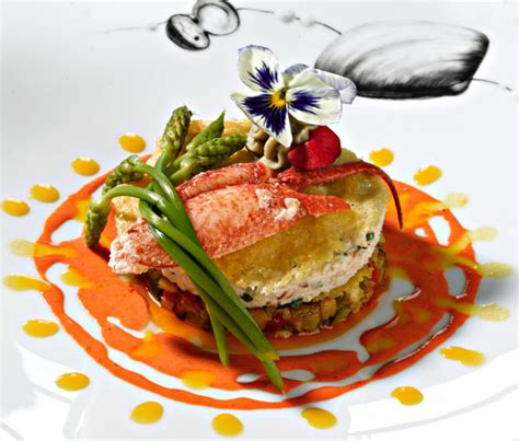 photo plat cuisine gastronomique restaurant quiberon la villa margot site officiel