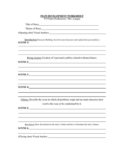 19 best of story development worksheets story element plot worksheet character