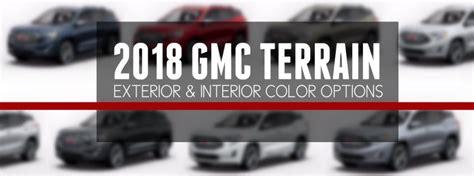 colors      gmc terrain