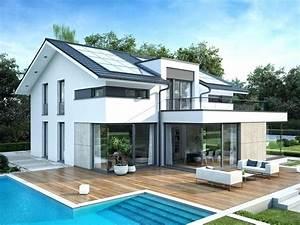 Einfamilienhaus Hanglage Planen : fertighaus moderne architektur ~ Lizthompson.info Haus und Dekorationen