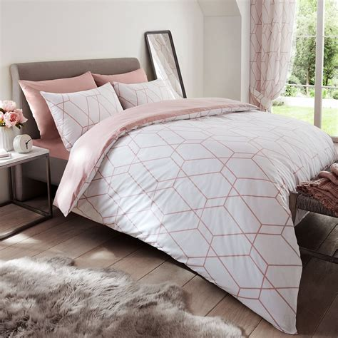 Cover Bedding by Metro Geometric King Size Duvet Cover Set Modern