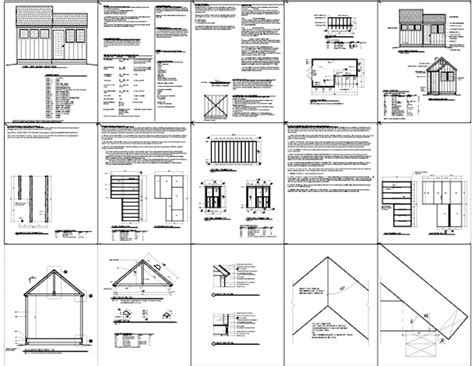 shed layout plans 8 10 shed plan suggestions to help you build a cave shed plans kits