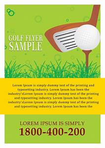 sample golf tournament flyer