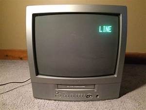 Toshiba Tv  Vcr Combo 19 U0026quot  Color Tv  Tvs  In Chicago  Il