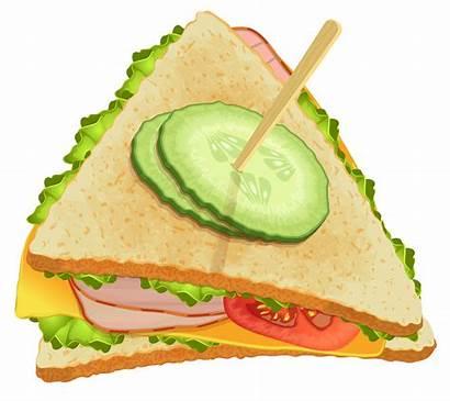 Sandwich Clipart Triangle Sub Turkey Clip Transparent