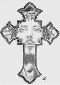 cross tattoo christ | productos que adoro | Pinterest ...