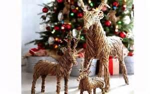 reindeer christmas decorations youtube